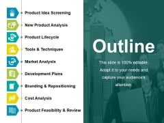 Outline Ppt PowerPoint Presentation Inspiration