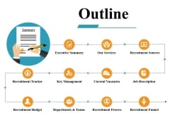 Outline Ppt PowerPoint Presentation Outline Graphics