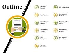 Outline Ppt PowerPoint Presentation Show Skills