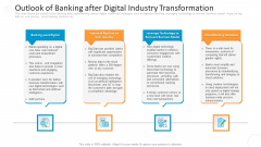 Outlook Of Banking After Digital Industry Transformation Infographics PDF