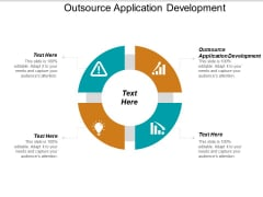 Outsource Application Development Ppt PowerPoint Presentation Outline Gallery Cpb