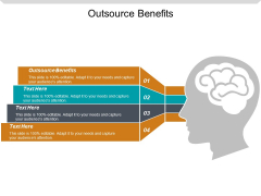 Outsource Benefits Ppt PowerPoint Presentation Styles Skills Cpb