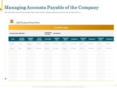 Outsource Bookkeeping Service Manage Financial Transactions Managing Accounts Payable Of The Company Ideas PDF