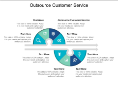 Outsource Customer Service Ppt PowerPoint Presentation Slides Maker Cpb