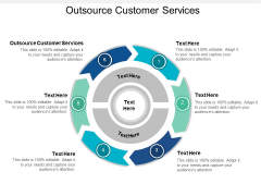 Outsource Customer Services Ppt Powerpoint Presentation Ideas Vector Cpb