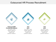 Outsourced HR Process Recruitment Ppt PowerPoint Presentation Layouts Graphics Tutorials Cpb Pdf