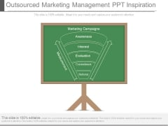 Outsourced Marketing Management Ppt Inspiration