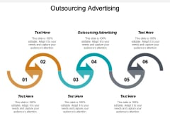 Outsourcing Advertising Ppt PowerPoint Presentation Model Template Cpb