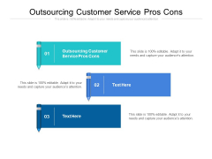 Outsourcing Customer Service Pros Cons Ppt PowerPoint Presentation Inspiration Examples Cpb