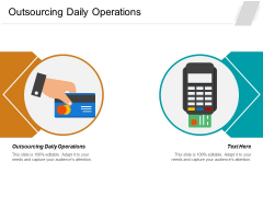 Outsourcing Daily Operations Ppt PowerPoint Presentation Styles Graphics