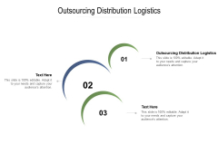 Outsourcing Distribution Logistics Ppt PowerPoint Presentation Influencers Cpb Pdf