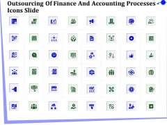 Outsourcing Of Finance And Accounting Processes Icons Slide Elements PDF