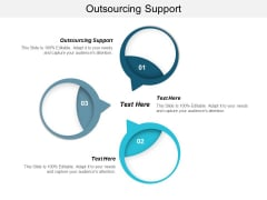 Outsourcing Support Ppt PowerPoint Presentation Outline Show Cpb