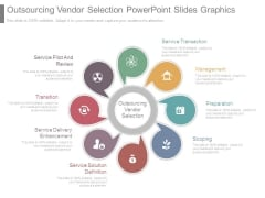 Outsourcing Vendor Selection Powerpoint Slides Graphics