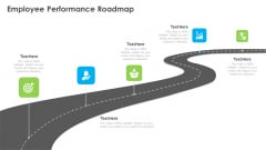 Outstanding Employee Employee Performance Roadmap Ppt Layouts Graphic Images PDF