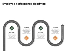 Outstanding Employee Employee Performance Roadmap Ppt Model Outfit PDF