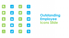 Outstanding Employee Icons Slide Ppt Inspiration Graphics Design PDF