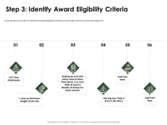 Outstanding Employee Step 3 Identify Award Eligibility Criteria Rules PDF