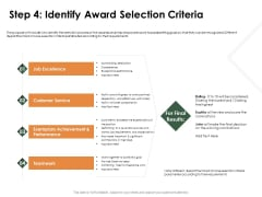 Outstanding Employee Step 4 Identify Award Selection Criteria Portrait PDF