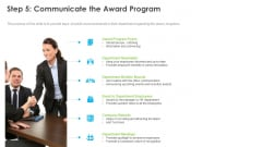 Outstanding Employee Step 5 Communicate The Award Program Guidelines PDF