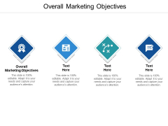 Overall Marketing Objectives Ppt PowerPoint Presentation Professional Icon Cpb