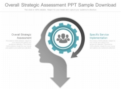 Overall Strategic Assessment Ppt Sample Download