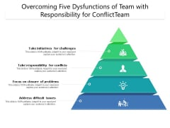 Overcoming Five Dysfunctions Of Team With Responsibility For Conflict Team Ppt PowerPoint Presentation Inspiration PDF