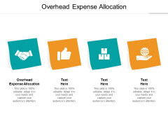 Overhead Expense Allocation Ppt PowerPoint Presentation Gallery Layout Cpb