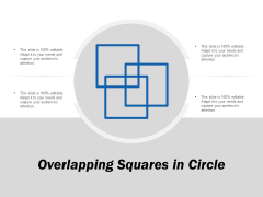Overlapping Squares In Circle Ppt PowerPoint Presentation Gallery Structure