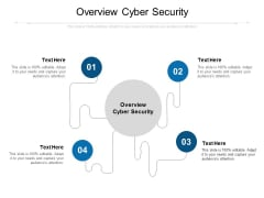 Overview Cyber Security Ppt PowerPoint Presentation Styles Microsoft Cpb