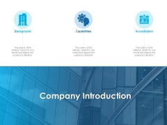 Overview Healthcare Business Management Company Introduction Ppt Styles Clipart PDF