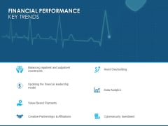 Overview Healthcare Business Management Financial Performance Key Trends Infographics PDF