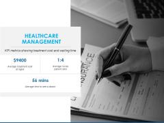 Overview Healthcare Business Management Healthcare Management Cost Diagrams PDF