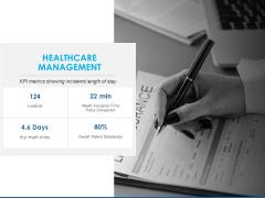 Overview Healthcare Business Management Healthcare Management Slides PDF
