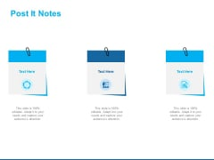 Overview Healthcare Business Management Post It Notes Ppt Icon Designs Download PDF