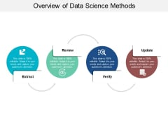 Overview Of Data Science Methods Ppt PowerPoint Presentation Portfolio Display