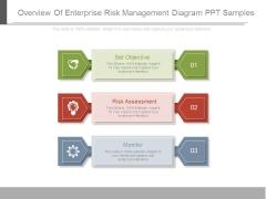 Overview Of Enterprise Risk Management Diagram Ppt Samples