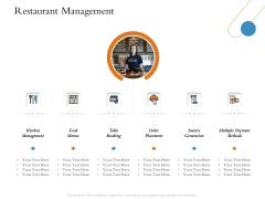 Overview Of Hospitality Industry Restaurant Management Topics PDF