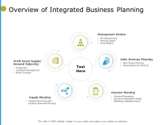 Overview Of Integrated Business Planning Ppt PowerPoint Presentation File Guide