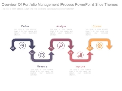 Overview Of Portfolio Management Process Powerpoint Slide Themes