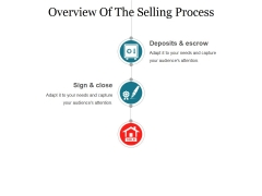 Overview Of The Selling Process Template 1 Ppt PowerPoint Presentation Show Layout