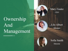 Ownership And Management Ppt PowerPoint Presentation Inspiration Master Slide