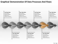 Of Data Processes And Flows Business What Are Business Requirements PowerPoint Templates