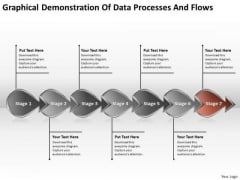 Of Data Processes And Flows Chart What Are Business Requirements PowerPoint Templates