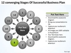 Of Successful Business PowerPoint Presentations Plan Circular Process Slides