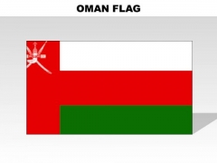 Oman Country PowerPoint Flags