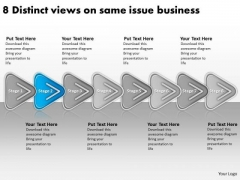 On Same Issue Business PowerPoint Theme Start Up Plan Template Templates