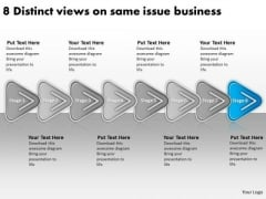 On Same Issue Free Business PowerPoint Templates Ppt Prepare Plan