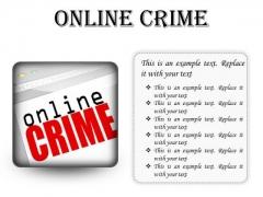 Online Crime Internet PowerPoint Presentation Slides S