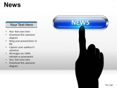 Online News PowerPoint Slides And Ppt Diagram Templates